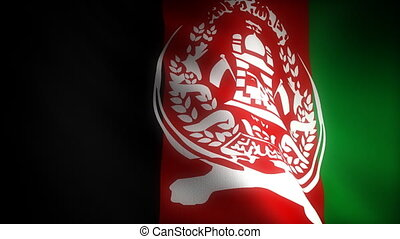 Flag of Afghanistan seamless
