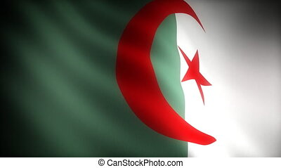 Flag of Algeria seamless