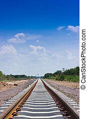 färsk, Järnväg, konstruktion