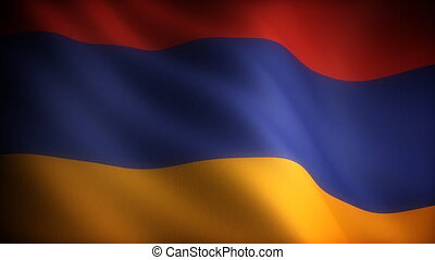 Flag of Armenia seamless