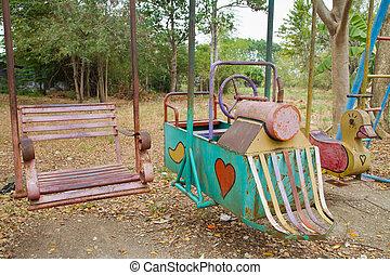 Old children playground