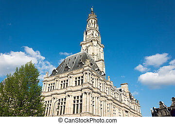 Arras Town Hall and Belfry - The Town Hall and belfry of...