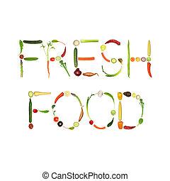 fresco, alimento