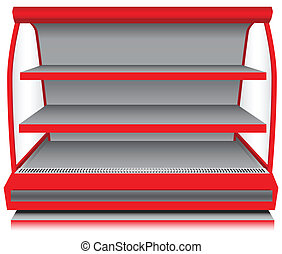 Store counter refrigerator - Store fixtures and equipment -...
