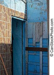 Door in need of paint