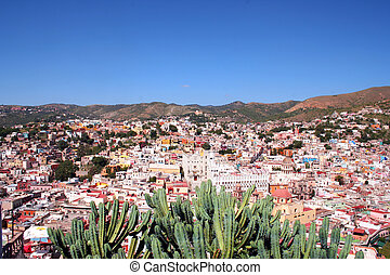 colorful city Guanajuato / Mexico - this is the colorful...