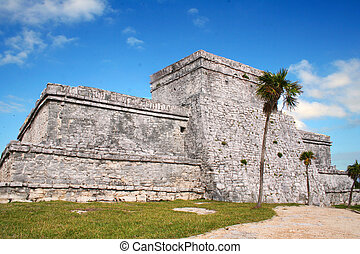 ancient ruins of Tulum / Mexico - these are the ancient...