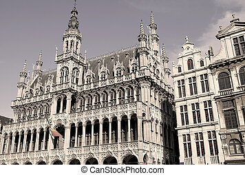 Brussels - Maison du Roi or the King's House on the Grand...