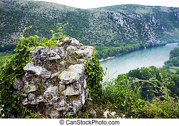 View from of the river Neretva