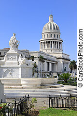 Havana capitoly - A view of Havana capitoly dome and...