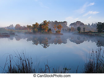 Mist Lake - If you sleep in you will miss the wonders of a...