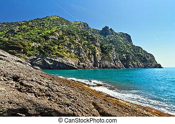 Punta Chiappa, Liguria, Italy