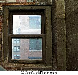 vieux, fenêtre