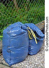 Bags of Household Rubbish