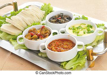 漢語, 食物