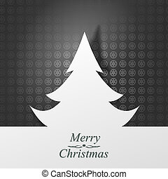 Christmas card. Vector Illustration