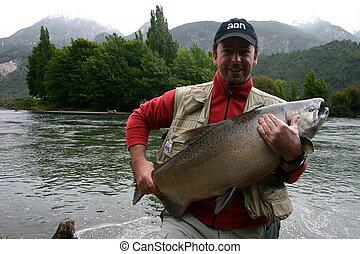 salmon - fishing salmon