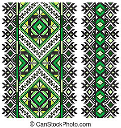 Ucrainian national ornament - Ukrainian national ornament...