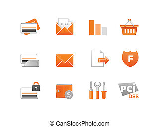 Set of Vector Finance Icons