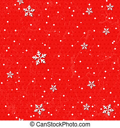 Seamless background with snowflakes.