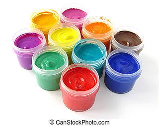 gouache  - watercolor gouache paints set