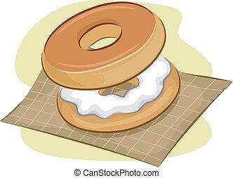 Bagels - Illustration of Bagels
