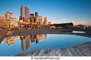 Seattle from the Pier