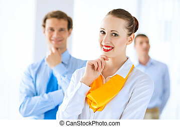 portrait of a successful business woman - Portrait of a...