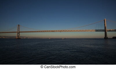 Bay Bridge - San Francisco%u2013Oakland Bay Bridge is part...