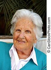 Beautiful Old Woman - Beautiful old Maltese Woman