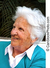 Beautiful old Maltese Woman