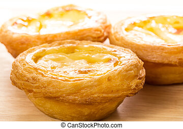 Egg tart - Hong Kong egg tart