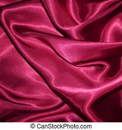Vinous Silk Fabric texture. Vector