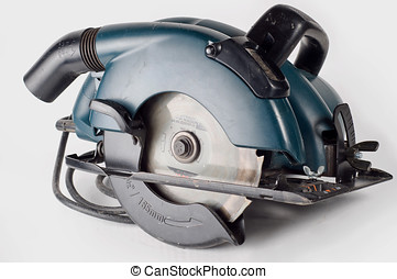 Circular saw, carpenters tool - Most common of all power...