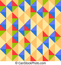 Abstract geometric seamless background for creative design -...