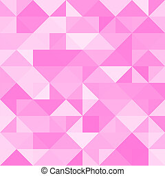 Abstract pink triangle background