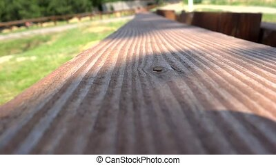 close up wood texture with shadow