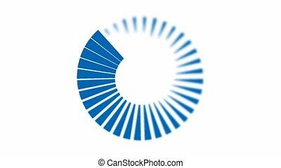 Animation - Blue Spiral