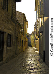 street in Porec, Croatia