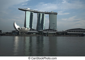 Marina Bay - SINGAPORE - MARCH 9: World's most expensive...