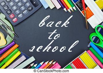 學校, 教育, 工具, 板