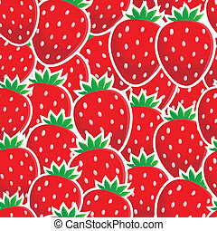 Seamless background fruit theme 4 - eps10 vector...