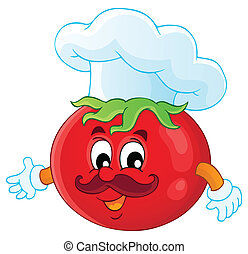Vegetable theme image 3 - eps10 vector illustration.