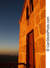 top of mount sinai - this is a chappel at the top of mount...