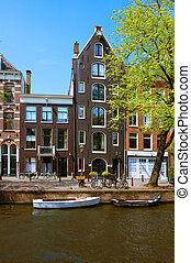 old houses in Amsterdam