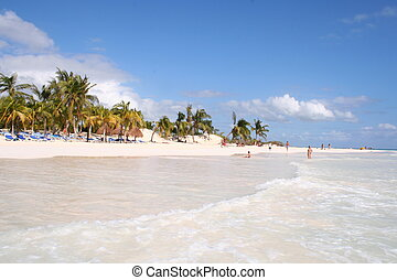 fantastic beach of Tulum - this is the fantastic beach of...