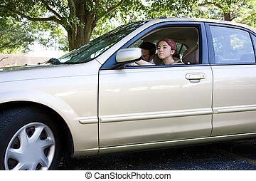 prova, guidare