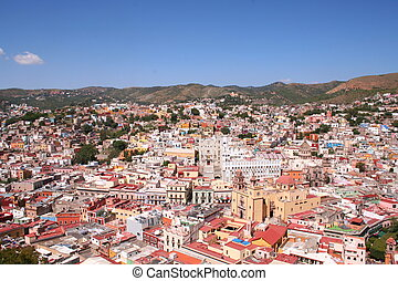 Guanajuato / Mexico - this is the beautiful city of...