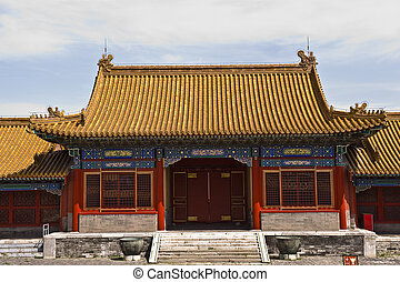 Forbidden City - Palace of the Forbidden City in Beijing...