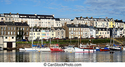 Portrush Harbour - Boats in the harbour at Portrush Northern...